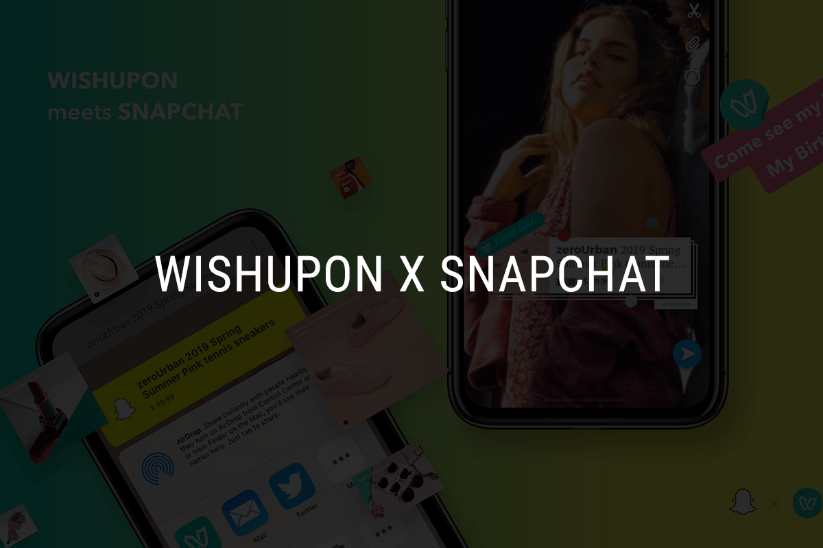 wishlist, shopping list, wish list, wishupon, snapchat, shopping chat, station f, 위시어폰, 위시리스트, 스테이션 F