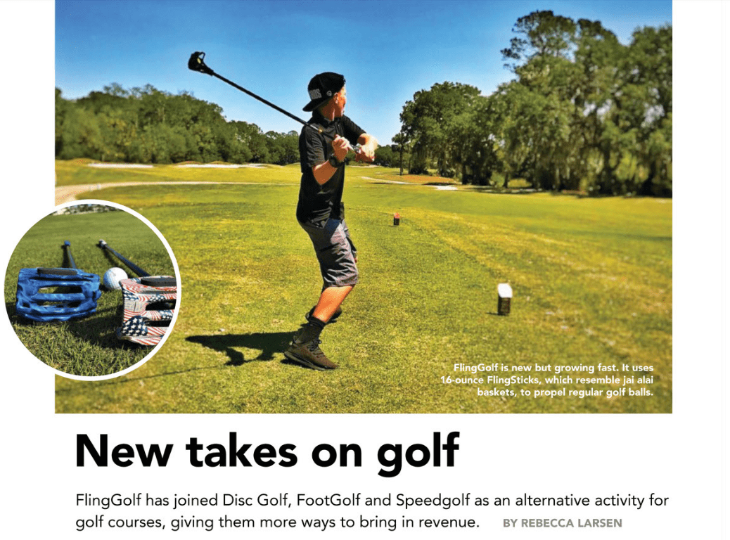Golf Inc. Article