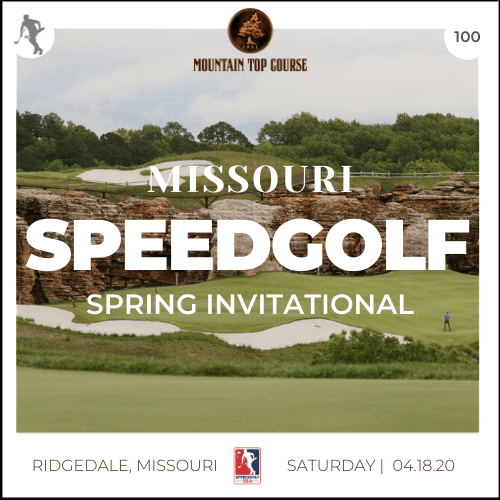 2020 Missouri Speedgolf Spring Invitational