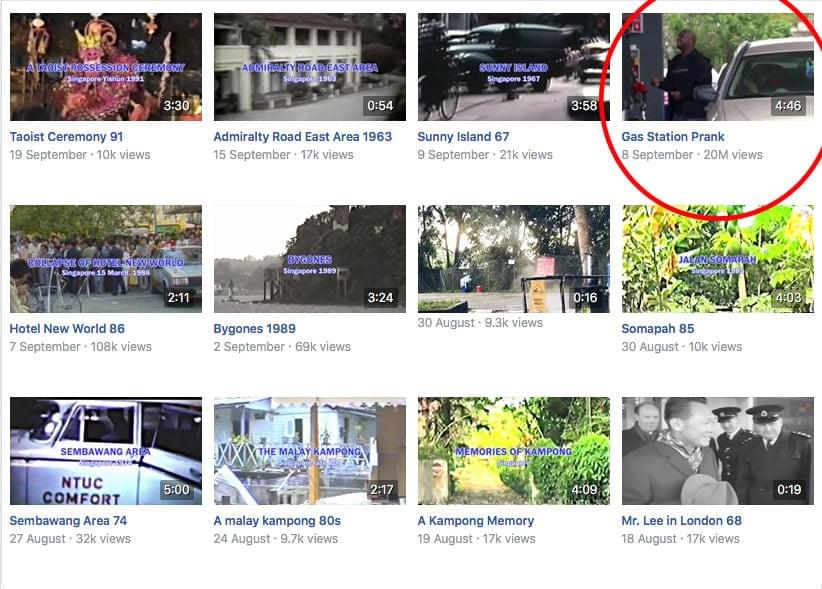 Top Facebook Pages in Singapore, by thevideocompany.sg; a corporate video production house in Singapore.