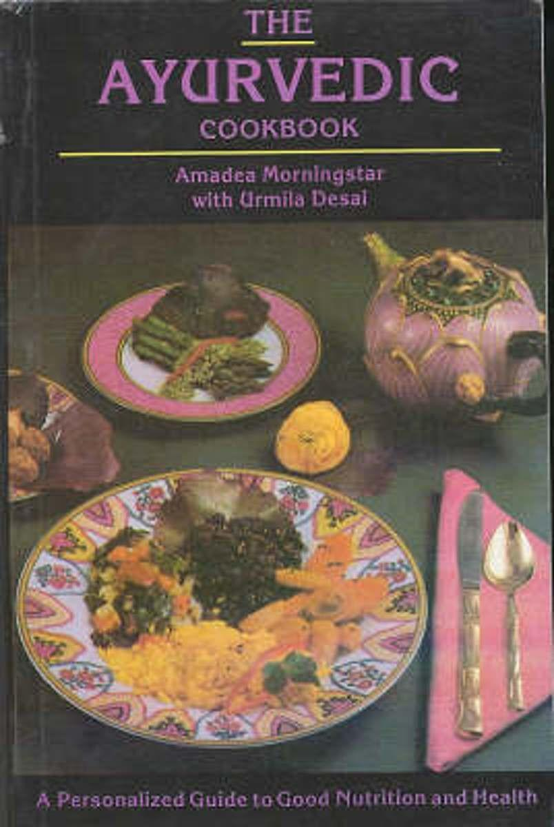 amadea morningstar m.a. book the ayurvedic cookbook review a personalised guide to good nutrition and health by kimmana nichols