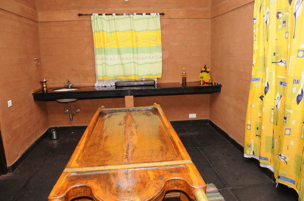 Treatment Room - Vaidyagrama - Ayurvedic Healing Village