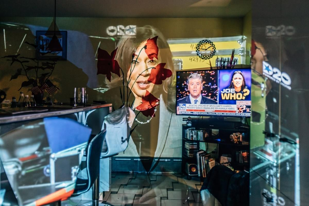 Kamala Harris, the Democratic vice-presidential nominee. Photograph by Damon Winter for the New York Times