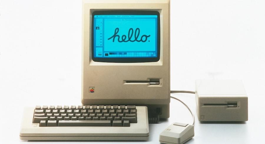 Apple Macintosh Hello