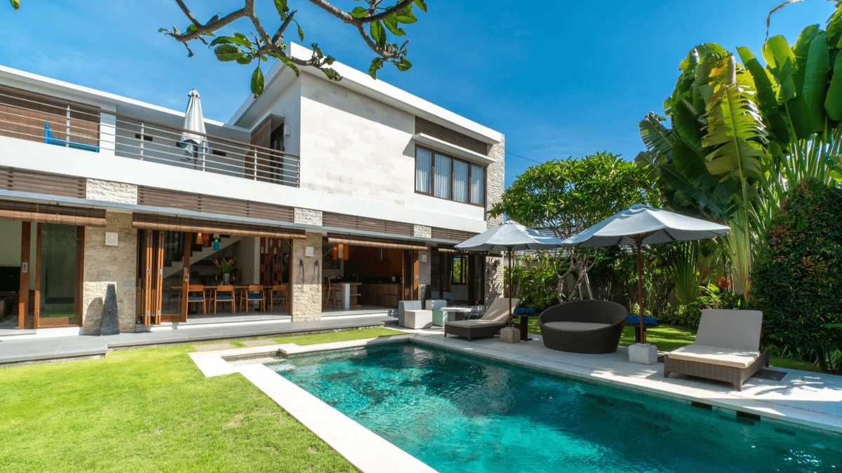 Short-term property, located in Pecatu, Bali.