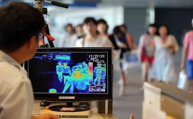 Thermal Scanner at Bali Airport