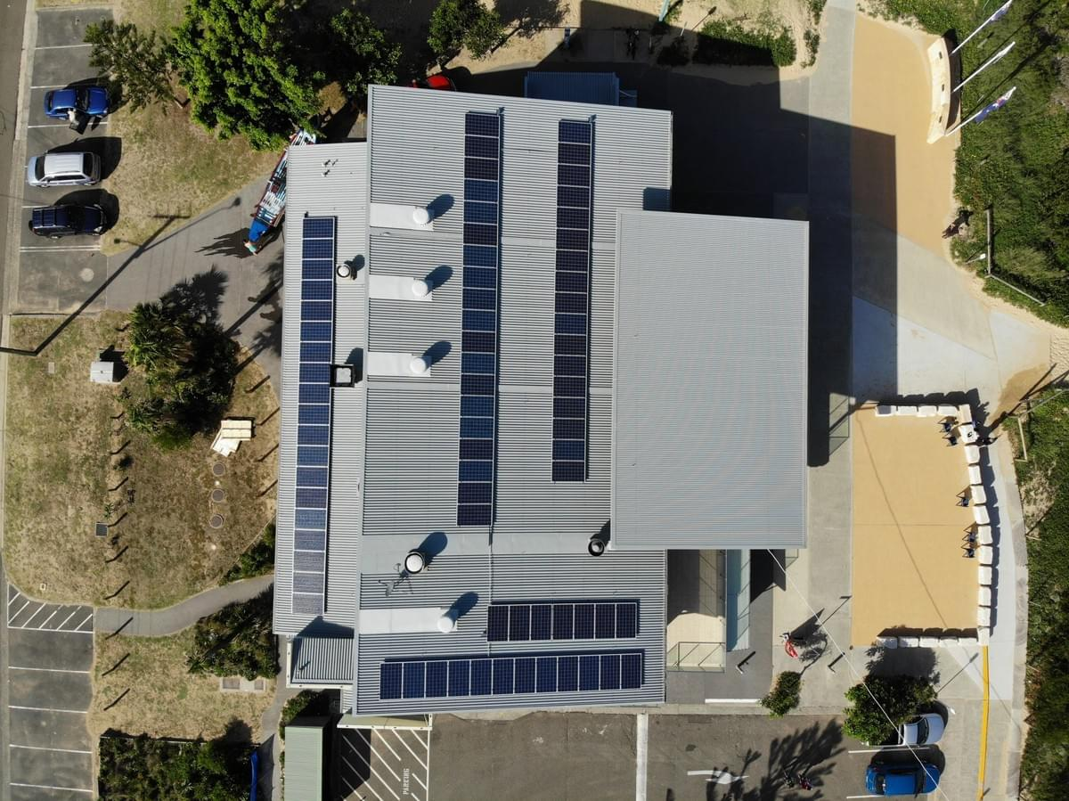 Ocean Beach SLSC - Solar System installed by RESINC Solar