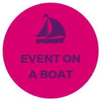 corporate event on yacht boat ship