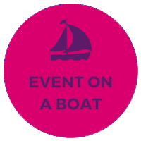 corporate event on a yacht boat ship