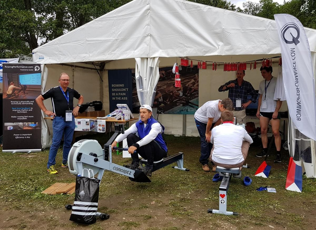 Quiske from Finland and Citius Remex from Denmark had a joint Nordic ;-) sales tent at WRMR