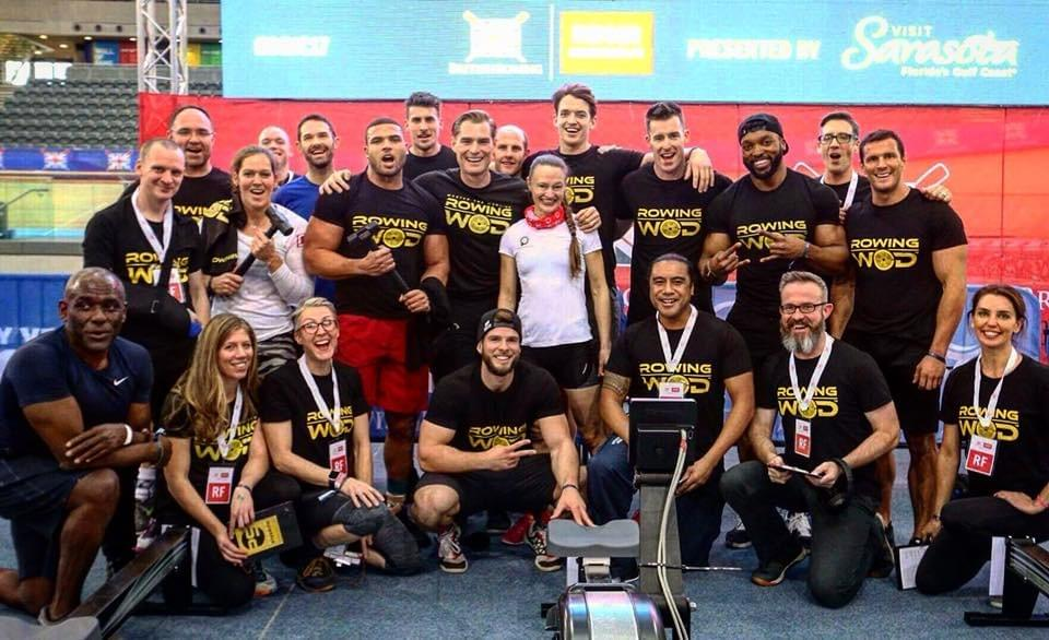 The #Bric2017 RowingWod team (pic by RowingWod)