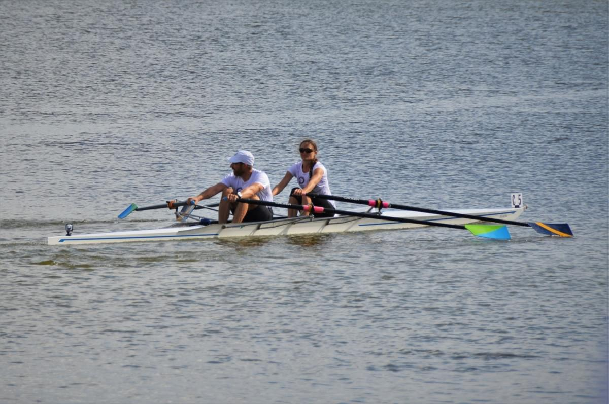 The Quiske rowing team