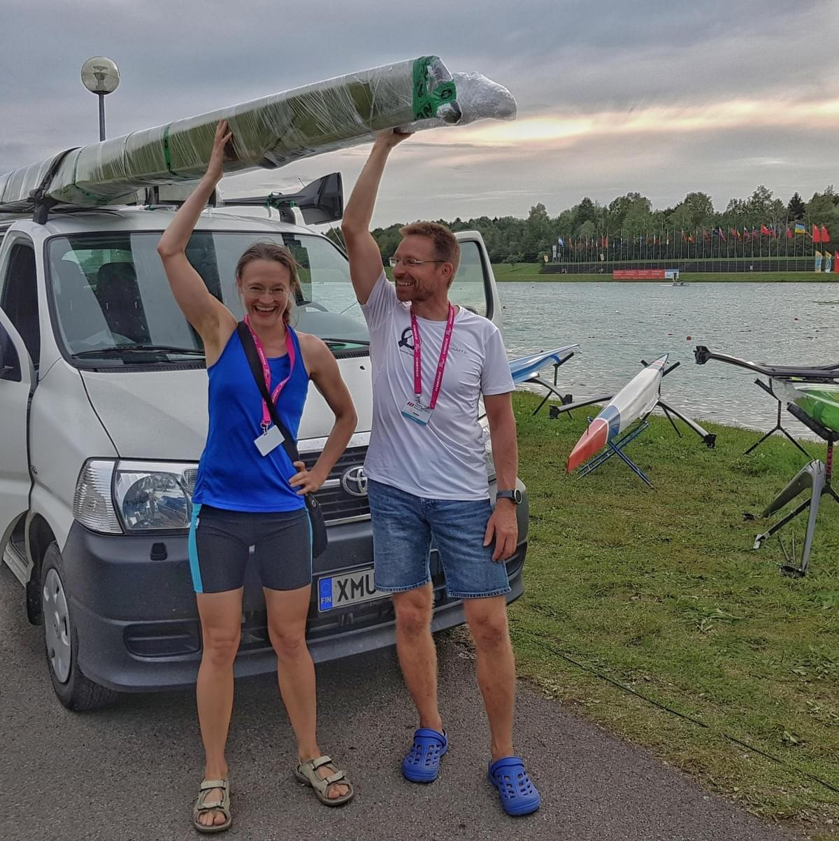 Single sculls going back to Finland