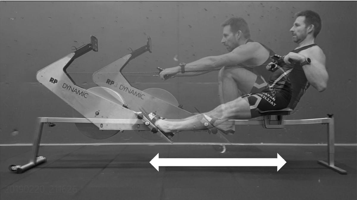 The rhythm, or ratio, of the rowing stroke is definded by the proportions of drive and recovery