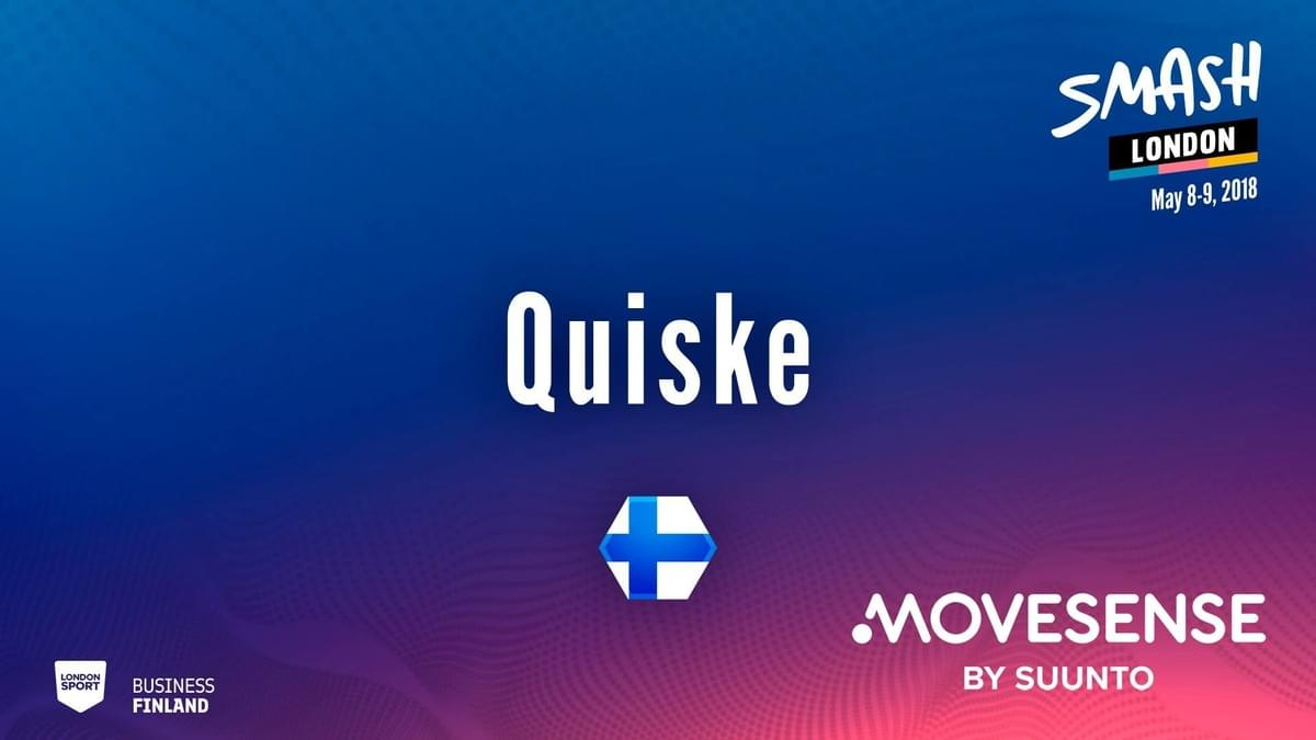 Quiske won the Smash London pitching battle