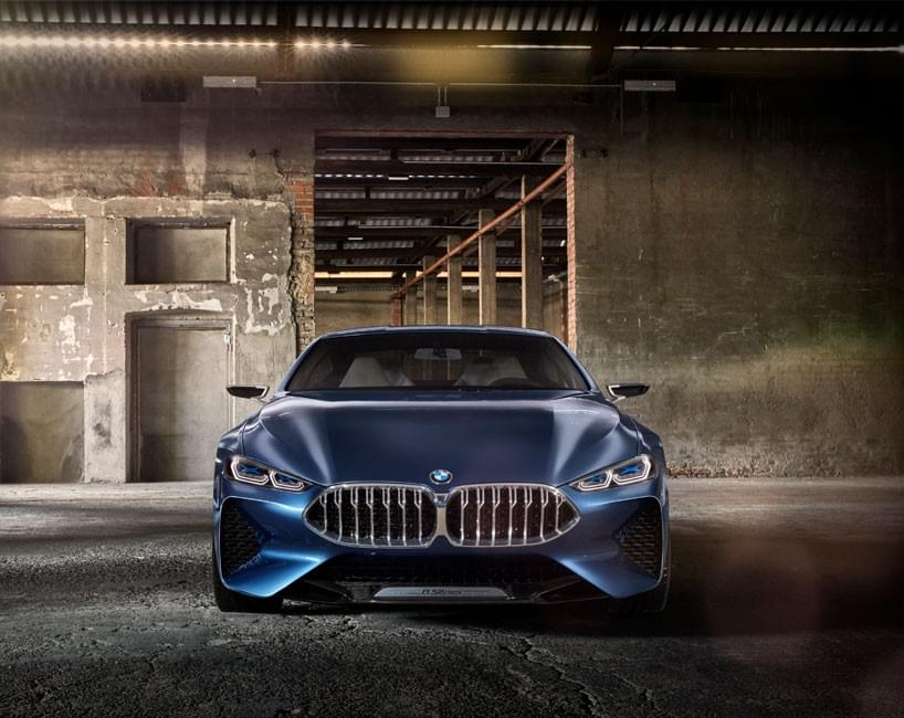 BMW concept 8 series face