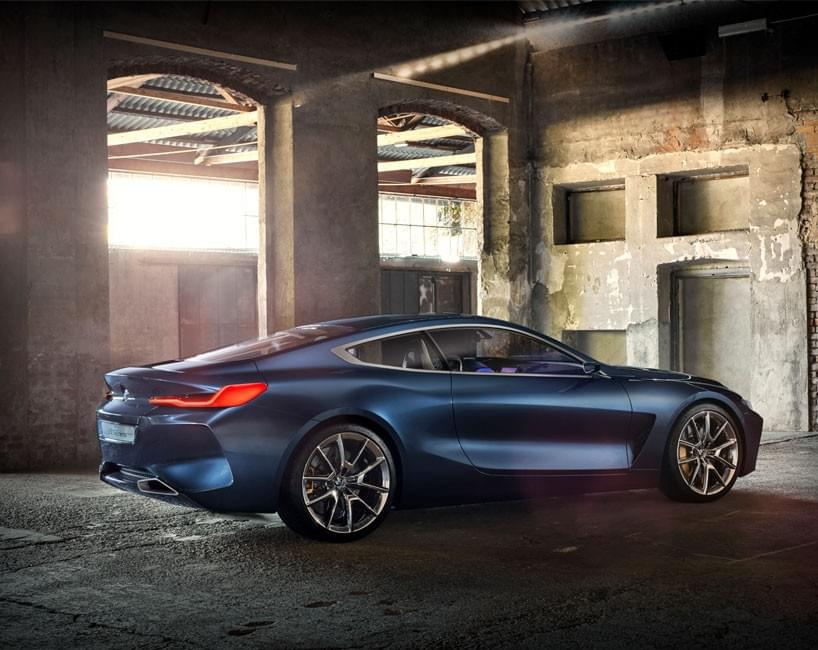 BMW concept 8 series side