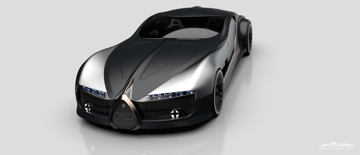 Luxury And Extraordinary Bugatti Atlantic Concept