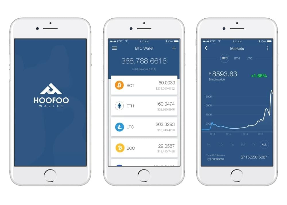 HooFoo Secure Hardware Wallet for cryptocurrencies