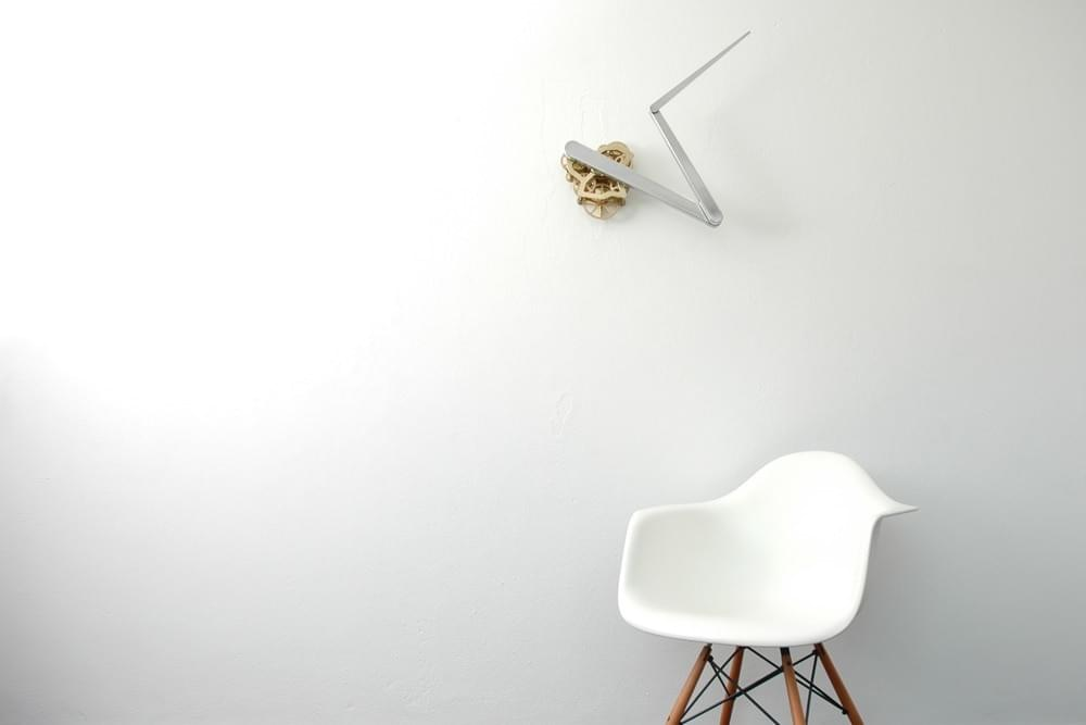 Continue Time Kinetic Clock by Sander Mulder