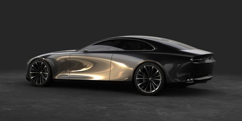Mazda vision coupe side