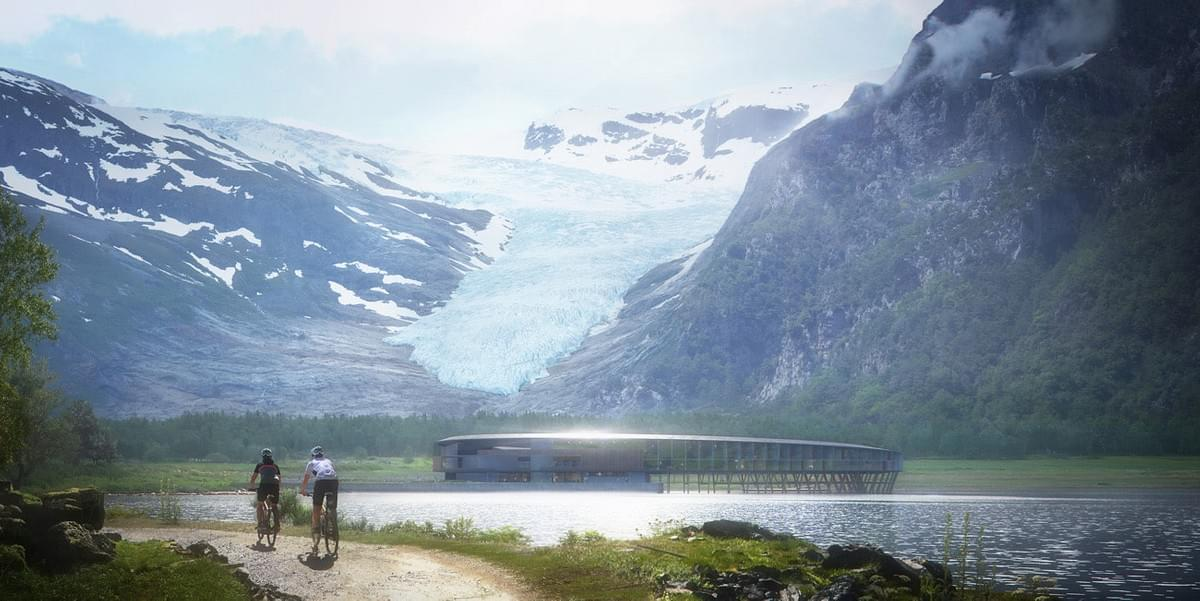 Hotel Concept Above The Arctic Circle