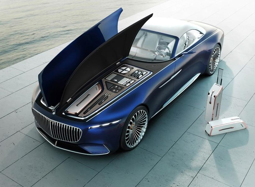 vision mercedes-maybach 6 cabriolet concept trunk