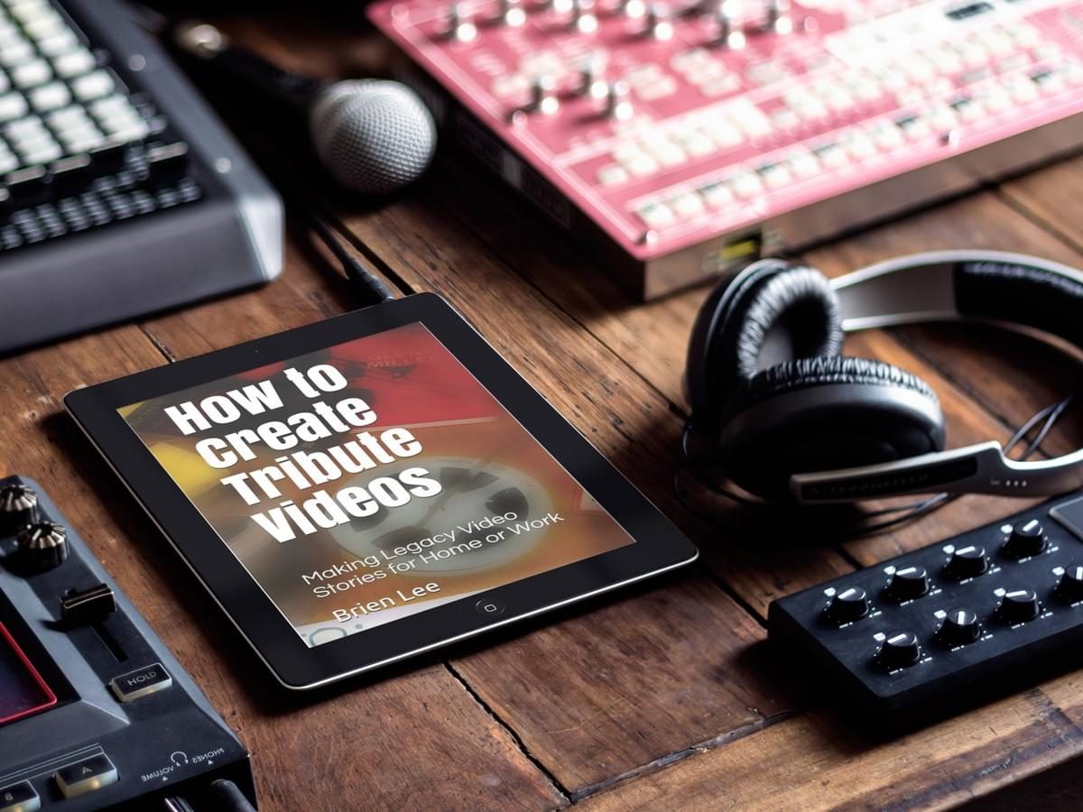Trute Video Book featured on A Kindle e-reader on production desk