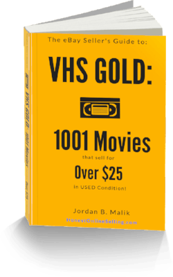 Sell VHS tapes on eBay