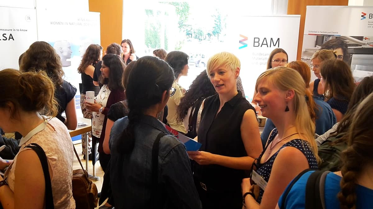 Career Fair at I, Scientist 2018 /Photo: BAM