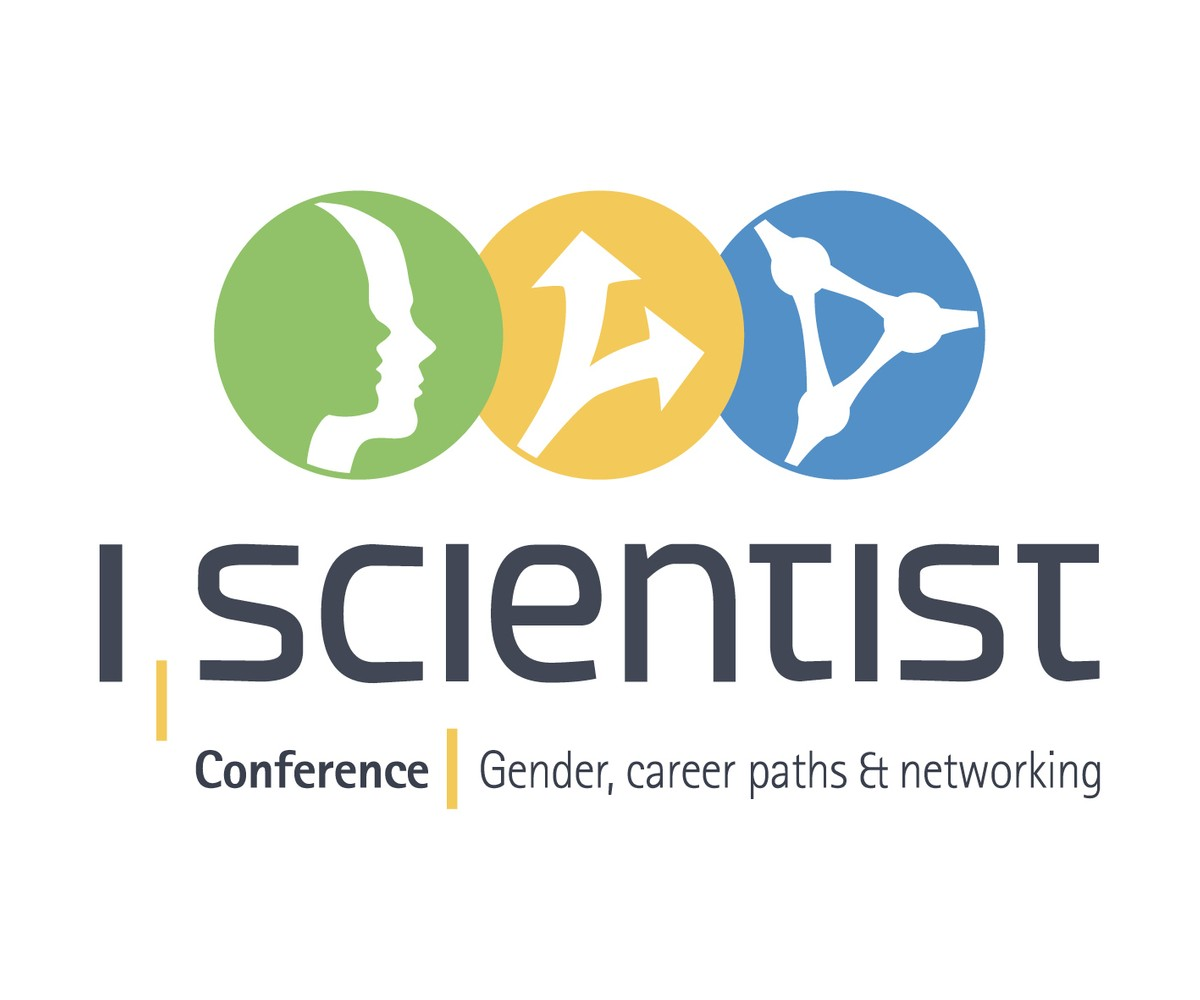 Official logo of the I, Scientist Conference