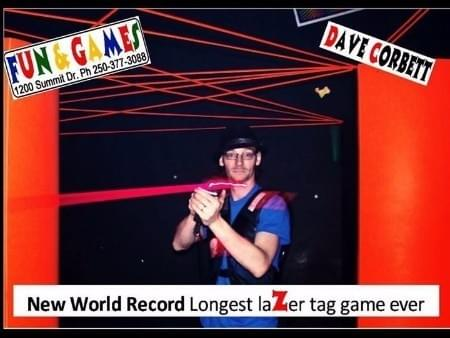 Longest Laser Tag Game World Record with LaZer Runner