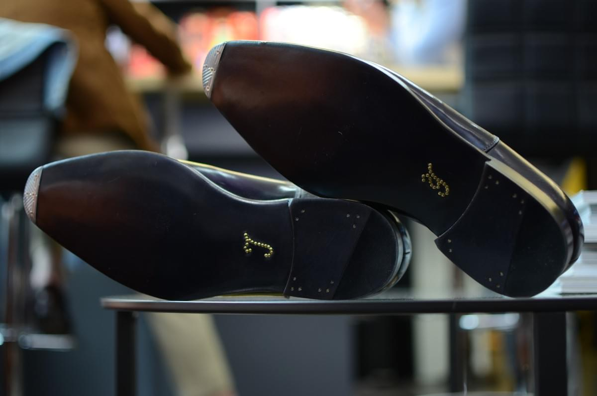 Barre & Brunel Footwear bespoke monogram