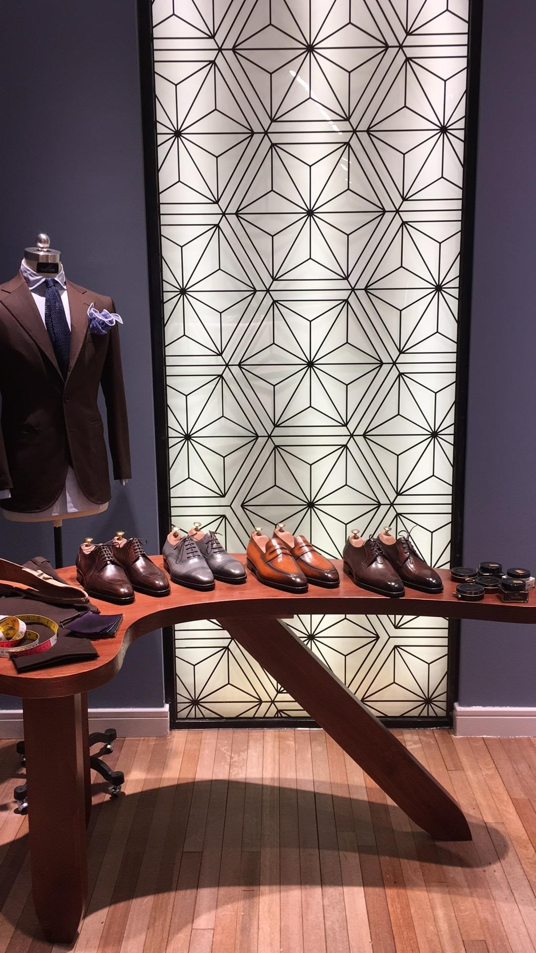 Barre et Brunel Footwear in Shanghai at Lancer Bespoke