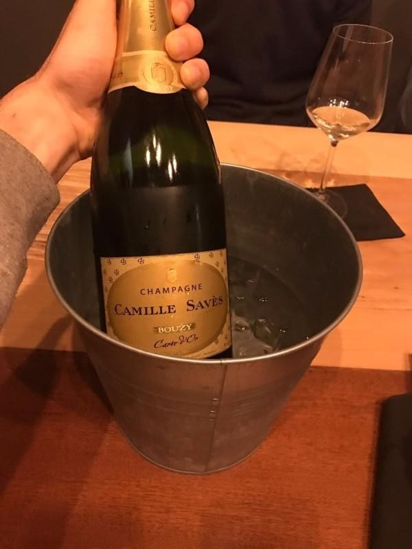 Champagne Bouzy Camille saves