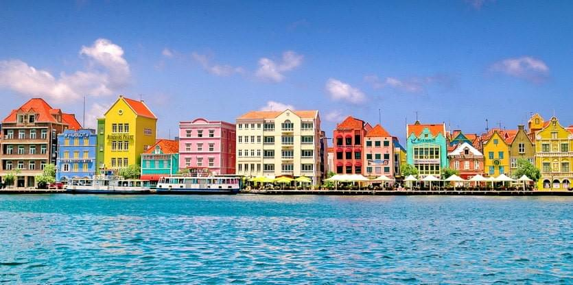 Willemstad, the capital of Curaçao