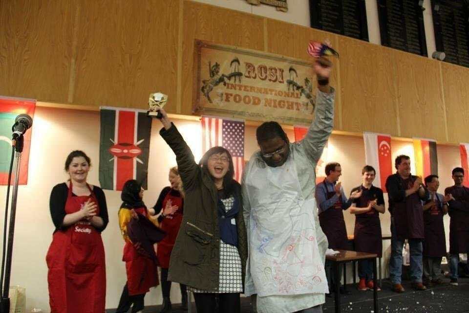 Team Malaysia won the championship for International Food Festival