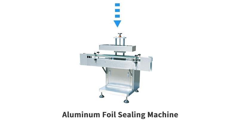 片剂成型液生产线铝箔封口机