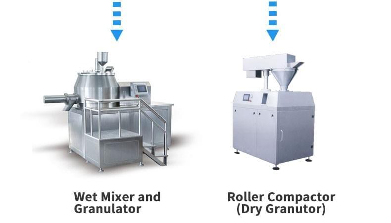 片剂溶液生产线造粒机