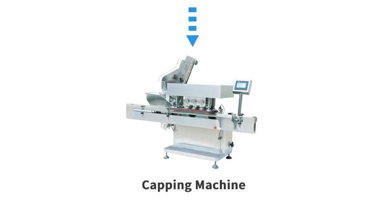 片剂成型液生产线压盖机