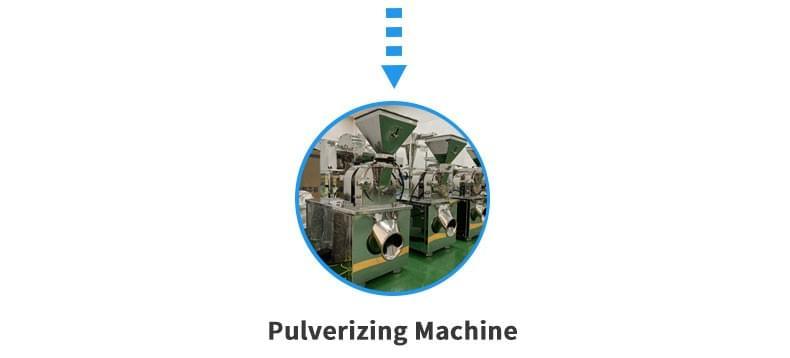 胶囊型溶液生产线粉碎机