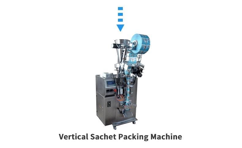 粉末粒状溶液立式袋装机