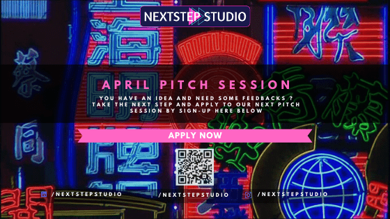 NextStep [Startup] Studio - April Pitch Session - Call for Application