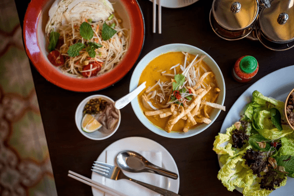KIN is offering a great selection of northern thai dishes easy to share
