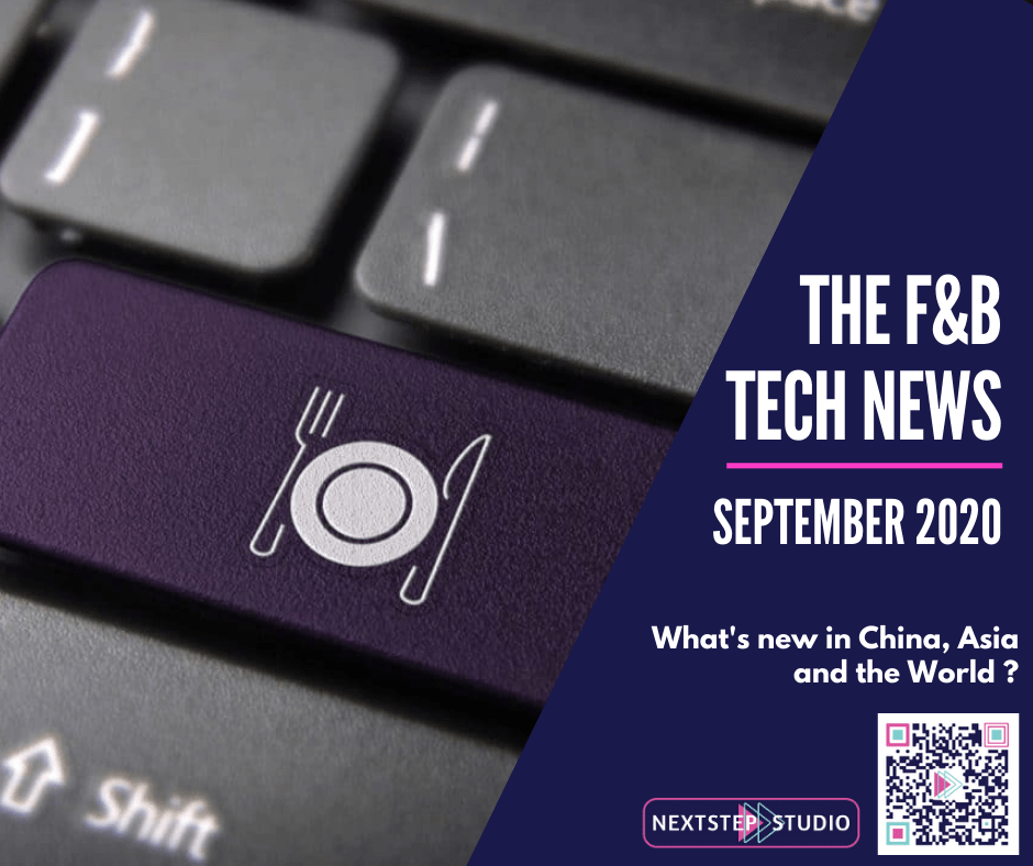 F&B Tech News - September 2020 by NextStep Studio
