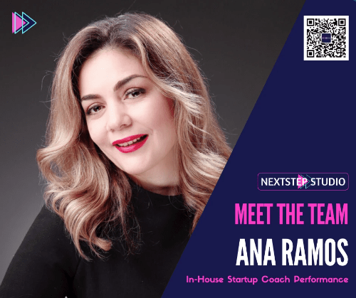 Ana RAMOS becomes NextStep Studio 's In-house Startup Performance Coach
