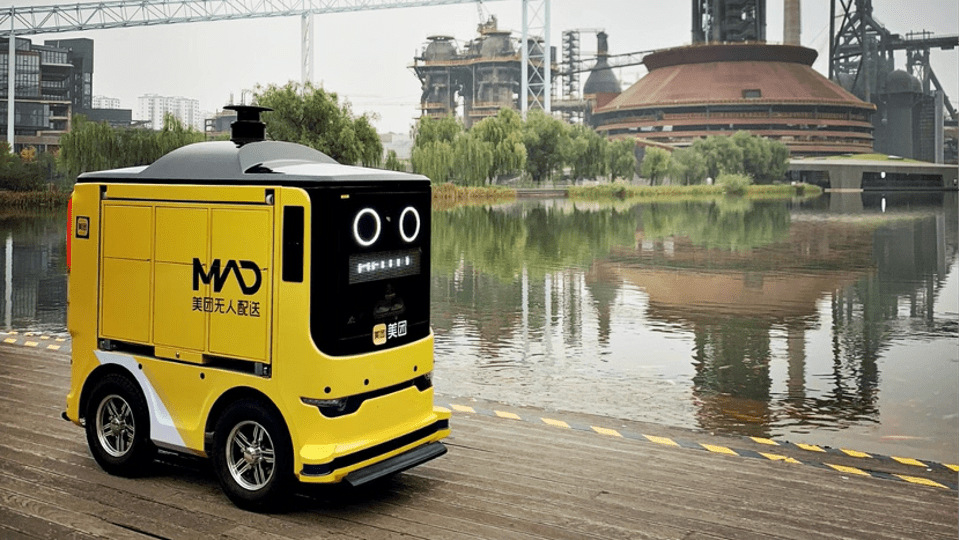 Meituan Dianping unleashes Automated Guided Vehicles to deliver goods around Beijing's Shougang park - forbes