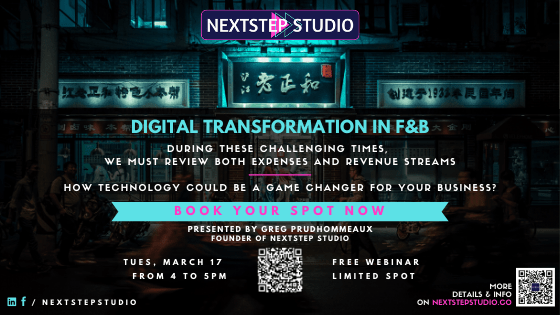 Webinar - Digital Transformation in F&B by NextStep Studio