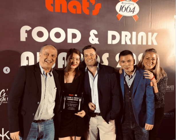 "The Camel Hospitality Group and KIN Urban Thai Kitchen has been awarded ""Best Thai Restaurant 2020"" by That's Shanghai"