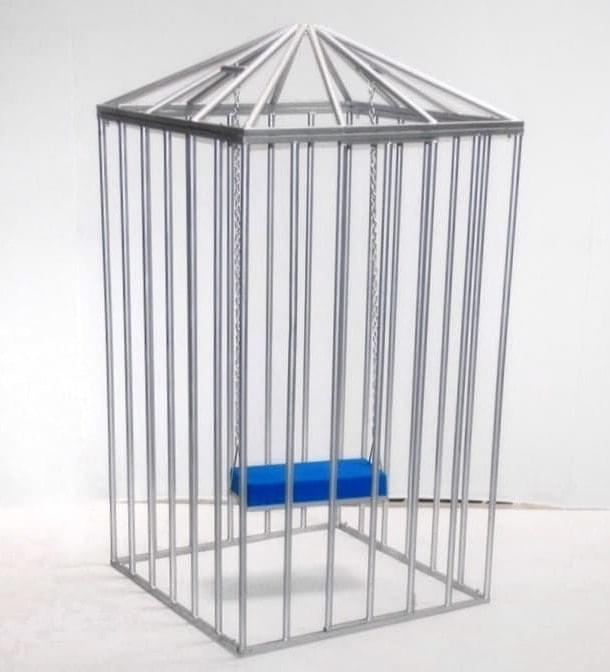 Square Dance Cage with Swing
